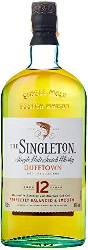 Whisky Singleton Of Dufftown 12 Anos, 750ml