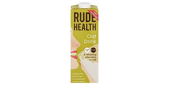 Rude Health Bebida de Avena - Paquete de 6 x 1000 ml - Total: 6000 ...