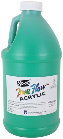 Sax True Flow Medium-Bodied Acrylic Paint - 1/2 Gallon - Eme