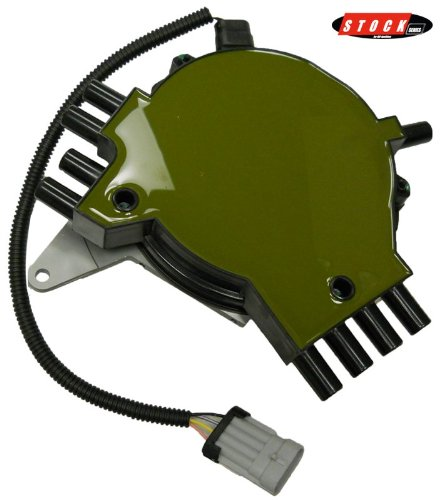 AIP Electronics Heavy Duty Stock Series 1st Generation Non-Vented Optispark Electronic Ignition Distributor Compatible Replacement For 1992-1994 Chevy Chevrolet Pontiac 5.7L V8 Oem Fit D92LT-SS