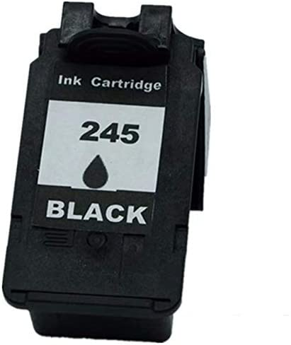 2 Black No-name Remanufactured Ink Cartridges Replacement for Canon PG-245 XL PG-245XL PG 245 PG245 CL-246XL CL246 Pixma iP2820 MX492 MG2924 MX492 MG2520 Inkjet Printer