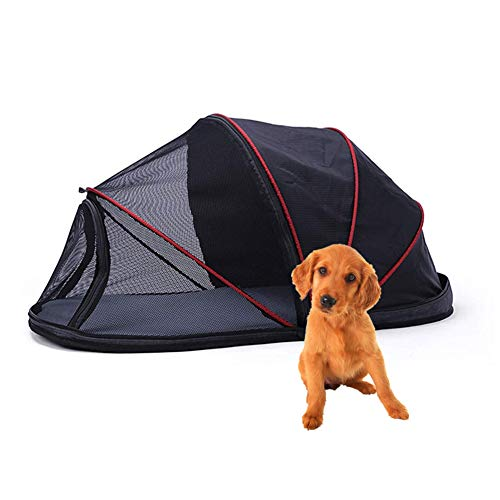 Hillwest Pet Dog Tent, Foldable Portable Outdoor Camping Domed Dog House, Comfortable Shelter Travel Pet Bed, Perfect Design for Your Dog Cat Rabbit