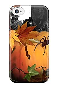 Anti-scratch And Shatterproof Halloween Haunt Phone Case For Iphone 4/4s/ High Quality pc Case