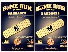 New York Mets Pencil - New York Yankees Bandages x 2 box (total 40 pcs)