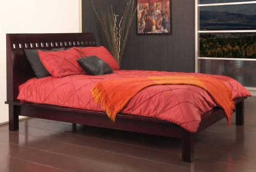 Modus Furniture Veneto Platform Bed, Espresso, California King