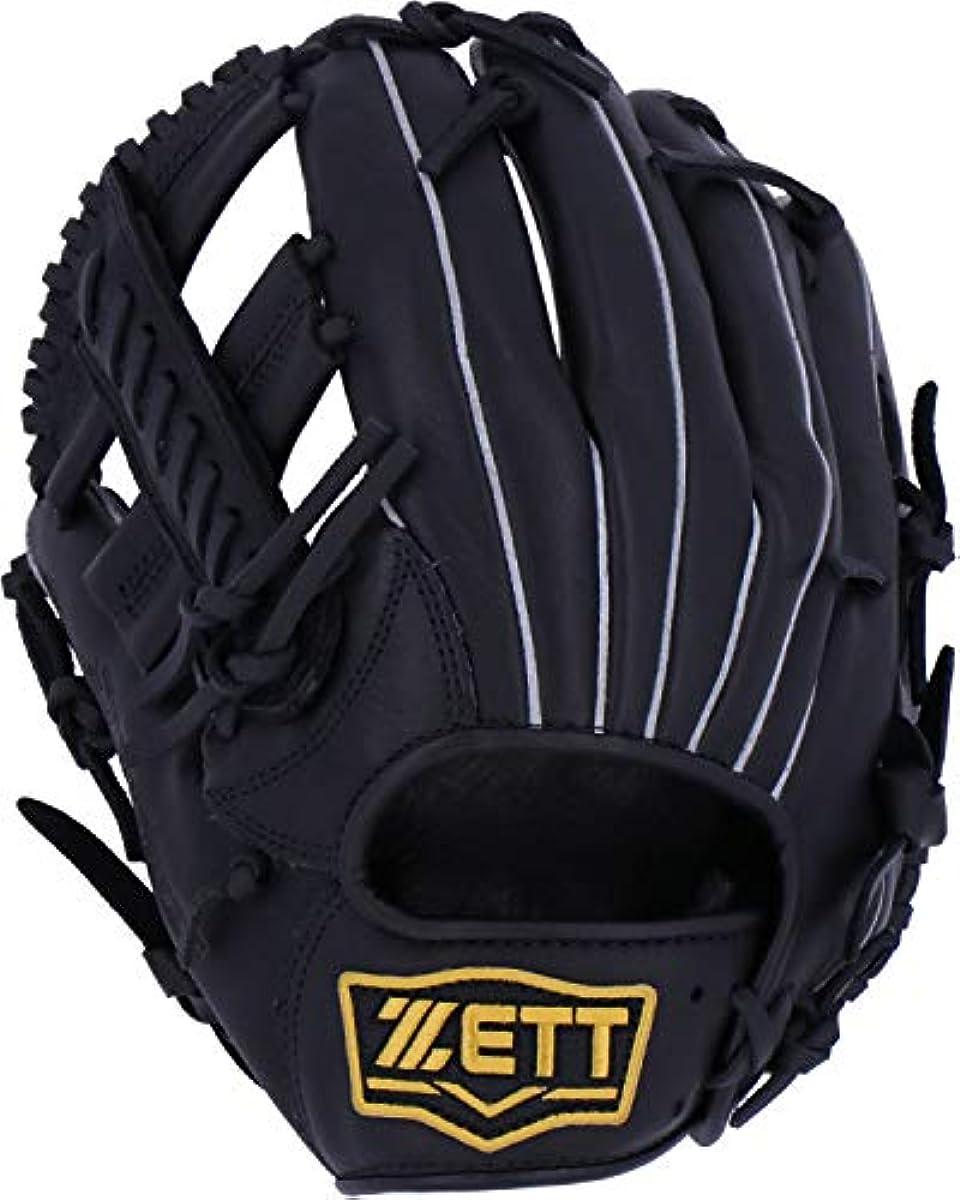 [해외] ZETT제트 연식 야구 소프트 steer 글러브 글러브 신연식 볼 대응 올라운드용 BRGB35920
