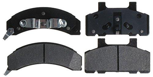 ntage Semi-Metallic Front Disc Brake Pad Set with Wear Sensor ()