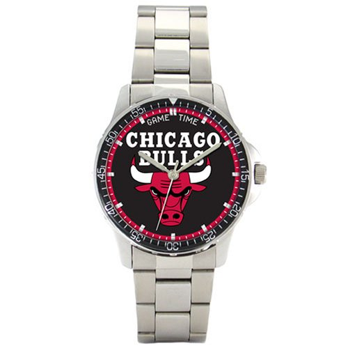 NBA Men's Chicago Bulls Coach Series Watch #BC-CHI by Game Time