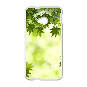 Glam Fresh Maple Trees personalized creative custom protective phone case for HTC M7