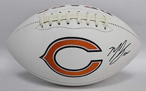 Matt Forte Autographed Chicago Bears White Panel Football w JSA COA ... c071e5672