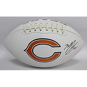 Matt Forte Autographed Chicago Bears White Panel Football w/JSA COA