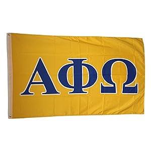 Amazon Alpha Phi Omega Sorority Letter Flag Outdoor Flags