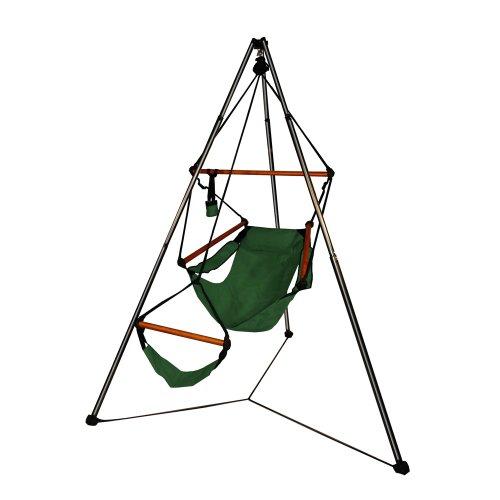 Hammaka Tripod Stand And Chair Combo - Wooden Dowels, - Stand Hammock Tripod