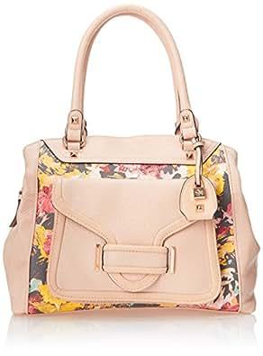 Jessica Simpson Leah Satchel, Floral, One Size