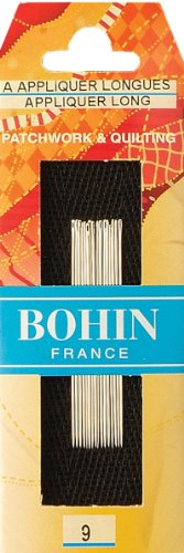 Bohin Applique Needles, Size 9, ()