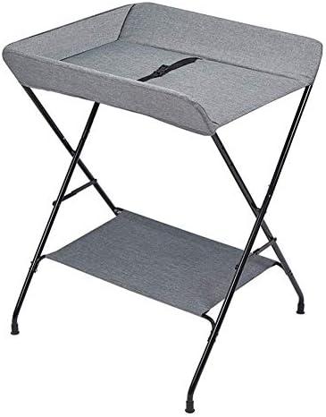 赤ちゃんおむつ交換台 赤ちゃんは、ストレージトレイをテーブル折り畳み式のおむつ駅(推奨高さ1.45〜1.65メートル)を変更します