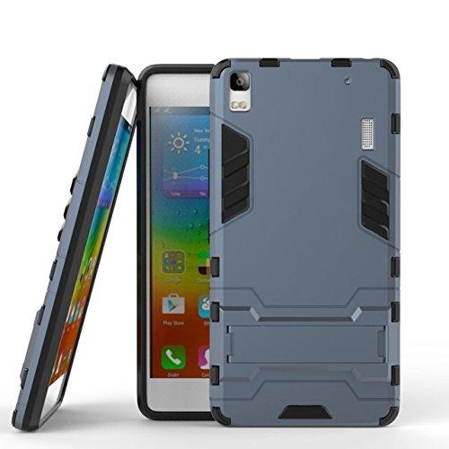 Slim Armor Case For Lenovo A7000 (black) - 3