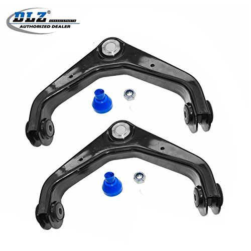 DLZ 2 Front Upper Control Arm Ball Joint Assembly Compatible with Chevrolet Silverado GMC Sierra 1500 2500 3500 HD, 2002-2006 Chevrolet Avalanche 2500, 2001-2012 GMC Yukon XL 2500, 2003-2009 Hummer H2