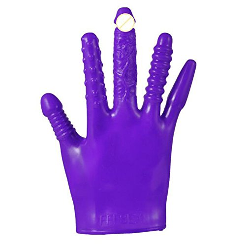 EDTara Adult Sex Love Massage Magic Vibrating Gloves for Party Couples
