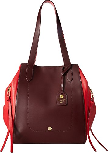 Lodis Accessories Women's Downtown RFID Charlize Tote Red One ()