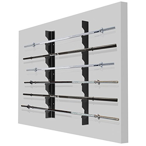 Ollieroo Olympic Barbell Rack Bar Storage ...