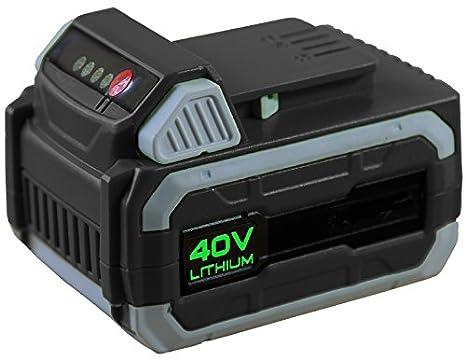 Cortacésped con batería Ikra IAM 40-3725, 40 voltios, recogedor ...