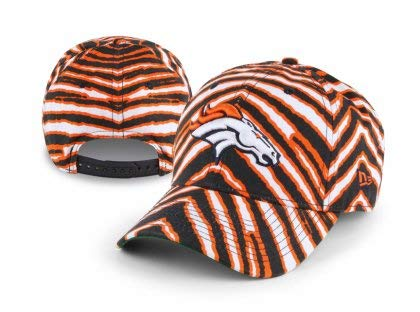 Zubaz Denver Broncos Snapback Curved Bill Hat - One Size