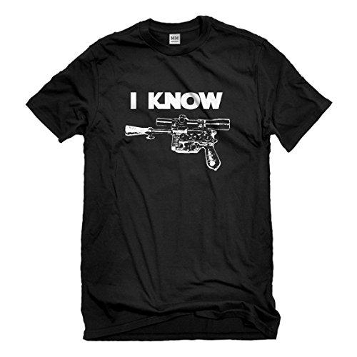 Indica Plateau Mens I Know Medium Black T-Shirt