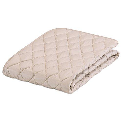フランスベッド ベットパッド敷きパッド ベージュ 97×195cm B00XFNUR0W