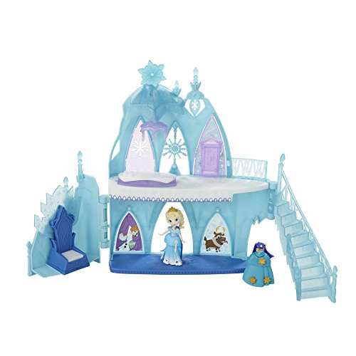 Elsa's Frozen Castle is a popular Disney Princess Little Kingdom toy for preschoolers