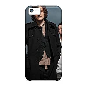 Bumper Cell-phone Hard Cover For Iphone 5c With Unique Design High Resolution Beyond The Embrace Band Skin MarieFrancePitre