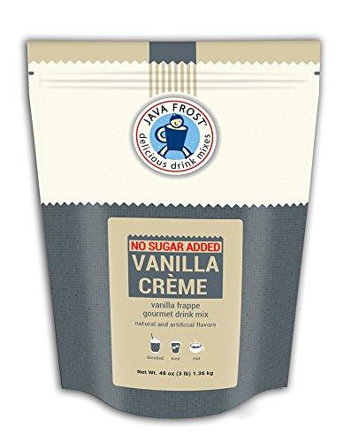 No Sugar Added Vanilla Creme Drink Mix - 3 LB Bag