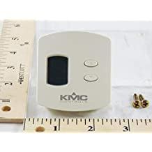 Temperature sensor/transmitter with LCD display, override, and adjustable setpoint