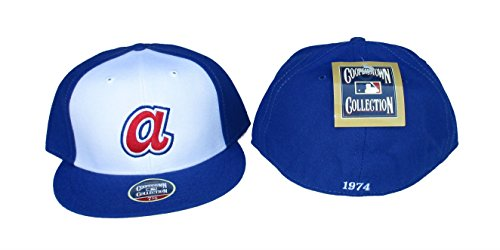 Atlanta Braves 1974 Cooperstown Collection Fitted 8 Hat Cap
