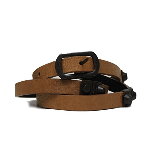 Balenciaga Brown Leather Belt for Women 354953 Size 90 cm / 34 in by Balenciaga