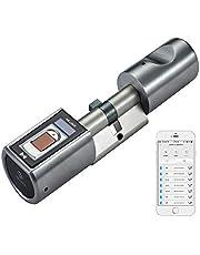 WE.LOCK avec Smart Lock d'empreintes digitales biométrique et télécommande Bluetooth App en sans clé
