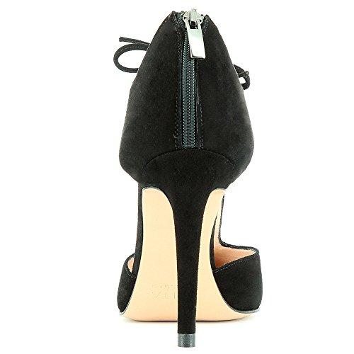 medio Evita negro Mujer ShoesALINA caño xvwwqEYP