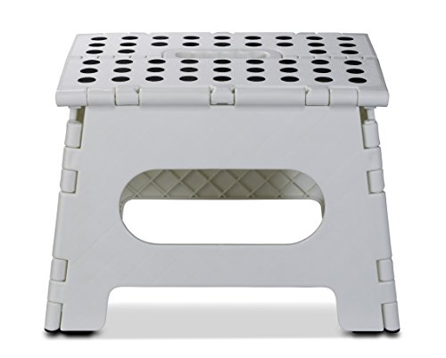 Folding Step Stool 11 Quot Wide The Lightweight Step Stool