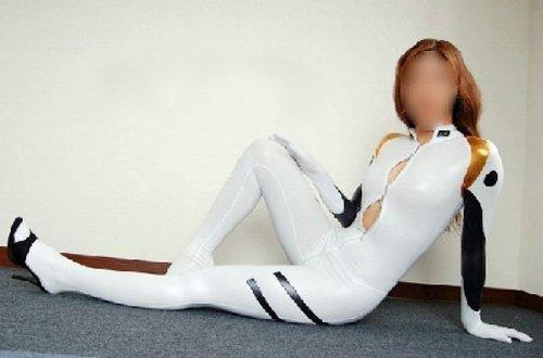 [Plug Suit] Ayanami Rei Neon Genesis Evangelion cosplay costume bodysuit women LL size (japan import) by Cos Style