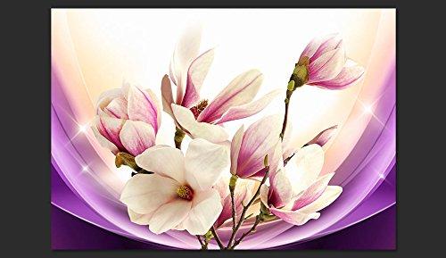 Murando - Fototapete 400x280 cm cm cm - Vlies Tapete - Moderne Wanddeko - Design Tapete - Wandtapete - Wand Dekoration - Blaumen Magnolie b-A-0298-a-c B016UU15A2 Wandtattoos & Wandbilder a9e3f4