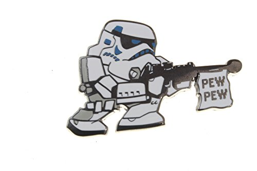 [Disney Star Wars Stormtrooper – Pew Pew Pin] (Stormtrooper Disney)