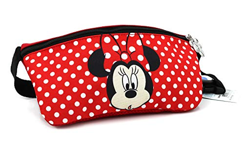 Minnie Dots Ribbon Fanny Waist Pack with Adjustable Waist Size for Girls