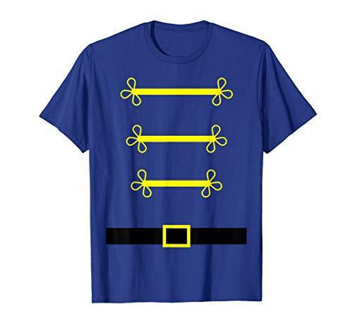 Toy Soldier Nutcracker costume uniform Shirt Christmas Gift]()