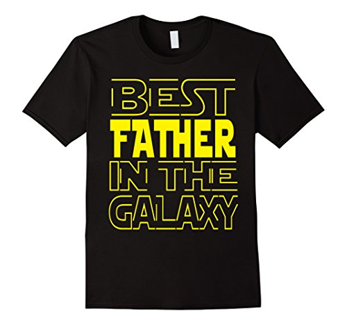 Men's Best Father In The GALAXY T-Shirt Fathers Day Tee