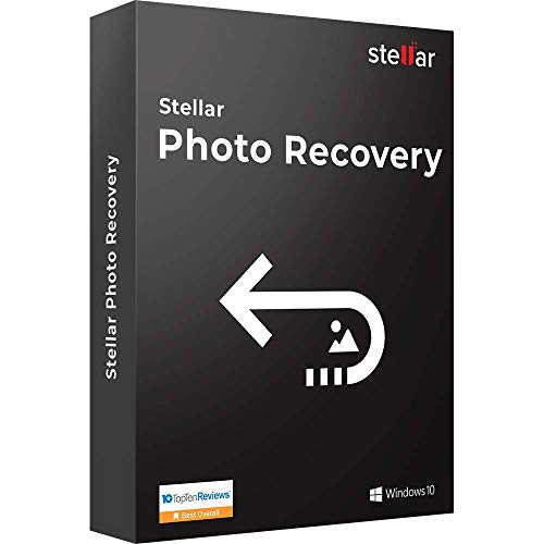 Stellar Photo Recovery Software | For Windows | Standard | Recover Lost or Deleted Photos, Audios, Videos | 1 PC 1 Yr…