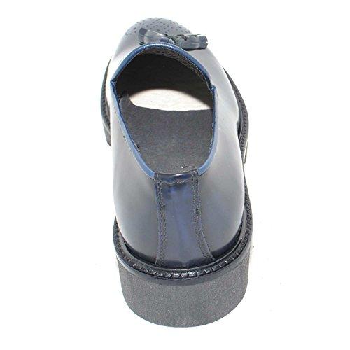 Italy Bon Abrasivato Uomo Made Art Scarpe Fondo Calzature Blu 4202 Roccia con Bon Antiscivolo Imperial Mocassino in Yf7Hwwqz