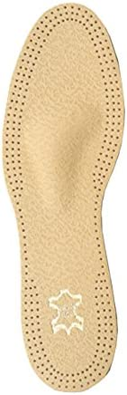 FabaCare Corbby Orto Taurus Premium Schuheinlagen Leder orthopädisch, schmal, Aktivkohle, atmungsaktiv, T-Form...