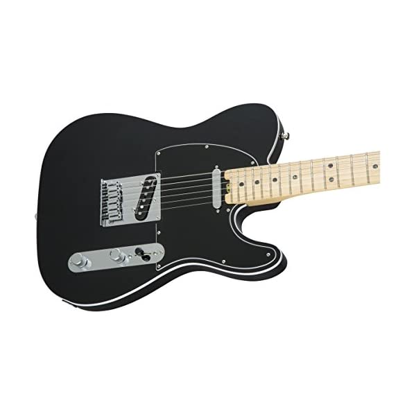 Fender 0114212710 American Elite Telecaster Maple Fingerboard Electric Guitar – Mystic Black
