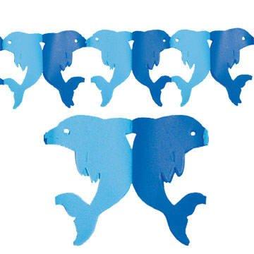PARTY DISCOUNT Delphin Girlande Blau Hellblau, 300 Cm: Amazon.de: Küche U0026  Haushalt
