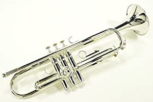 "Yamaha Trumpet Bb YTR 2330S Standard SILVER With ""Semi-Hard case"""
